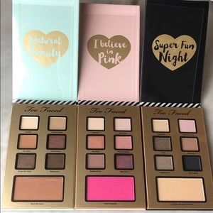 "Too faced ""best year ever"" makeup collection"